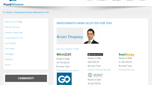 Hand Selected Investments